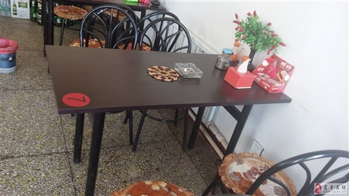 快餐店組合桌椅出售