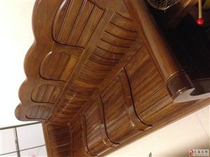 9成新实木沙发5件套