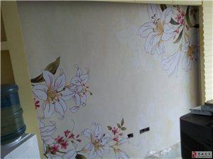 專業施工墻紙墻布壁畫