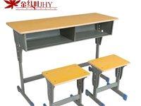 二手九成新雙人課桌椅