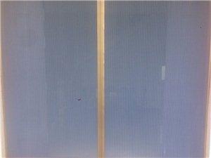 單雙料隱形紗簾門和窗
