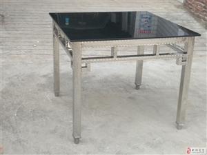 欧式不锈钢餐桌