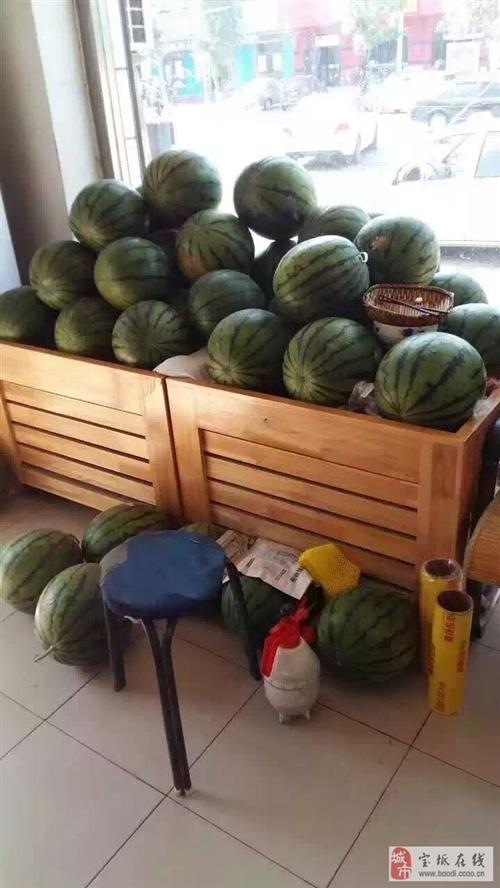二手水果店貨架
