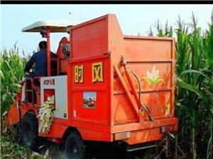 水泉村出售8成新玉米收割�C