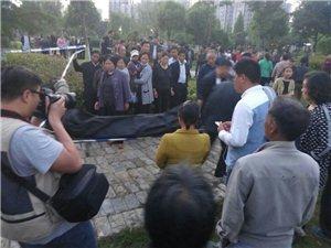 洪泽湖文化广场,金莺花园西南侧竹林里发现一具男尸