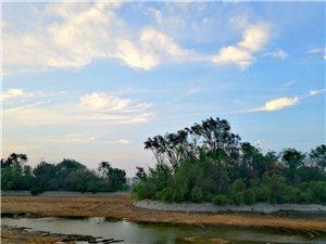 清淤�Y束,大月湖�K于�_始蓄水了。。。