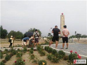 香港电台电视部在周恩来纪念园(滨州)拍摄中