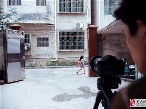 龙南本地公益微电影作品《彩色键》