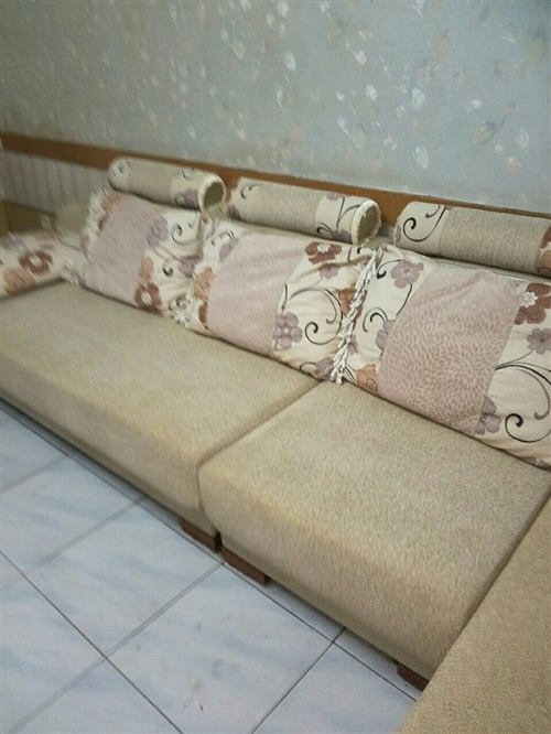 自家用的貴妃布藝沙發套,3.55米,價格面議,聯系電話13893793905
