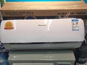 全新深圳松下空调,大1.5匹冷暖,现在仅需1800元包安装。压缩机六年全国联保。