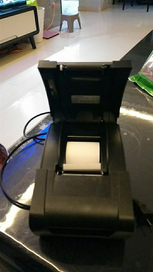外卖小票打印机,9成新,只使用了两个多月,有意者电话联系!