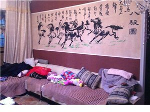 背景墙,彩砂装饰,砂画,家庭装修