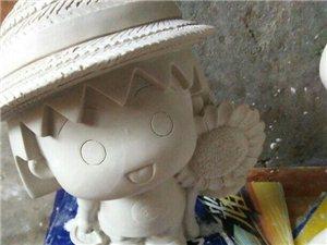 石膏彩繪娃娃DIY