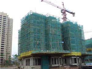 凯丽滨江三期工程进展顺利,二期六月底如期交房