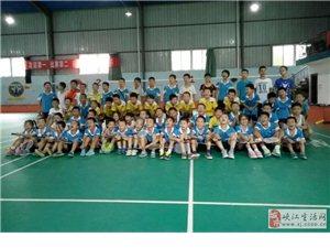 峡江飞羽球队同吉安活力球队举行羽毛球交流赛