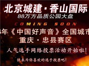 2016(中国好声音)全国城市海选重庆・忠县赛区专题