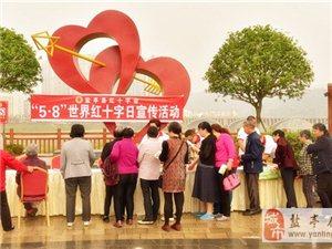 """盐亭县红十字会开展""""5.8""""世界红十字纪念日宣传活动"""