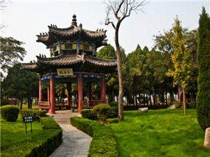 文王庙春景