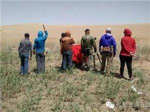 甘肃马帮越野俱乐部在民勤腾格里拍摄纪录片《沙漠越野》