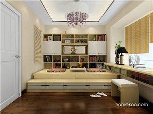 【定制导购】房间改成书房兼卧室设计的参考图有吗?
