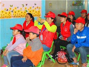 5月15日助残日,市爱心歌友会志愿者团队看望阳光聋儿康复中心在训孩子