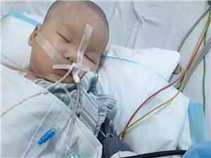 《爱心接力援助脑膜炎宝宝》希望大家都能献出一点爱心,帮这个小家伙度过难关!