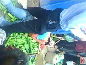 寻乌澄江镇发生一起因争摊位的打架事件