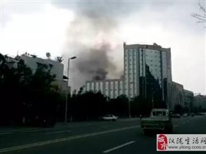 仪陇亿德酒店发生火灾