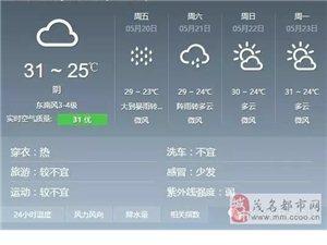 茂名重大天气报告:明天大到暴雨,出门记得带伞!