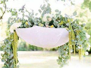 创意花艺吊饰,让你的婚礼美美哒!!