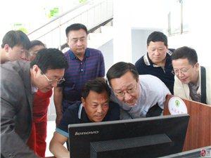 �R汾市科技局副局�L解�粤值节艨h�商孵化���空�g�{研