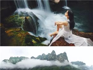 云台山,寻一方山青水秀之地,惬意地享受山野的清润、微风的凉爽!