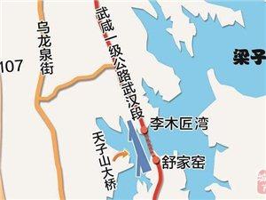 首座跨梁子湖大��M重�⒔ㄔO 此前因�h�u未�^�R�\2年