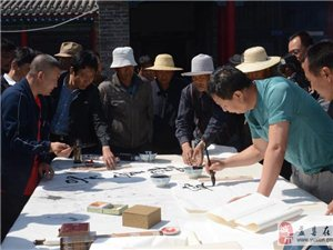 翰墨飘香一年一度传统八大庙会