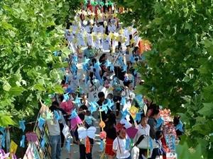 澳门威尼斯人官网县第四实验小学第三届校园艺术节暨班本课程展示活动掠影