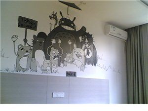 家居装修新宠,你家墙绘了吗?不要OUT了哦。。