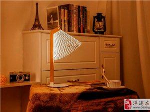 史上最炫酷的扁平化3D台灯