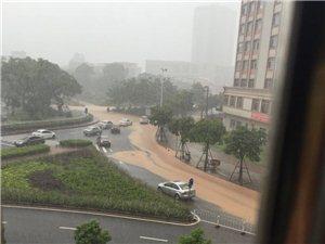 一场暴雨爆出市区各水浸黑点,实时更新(网友爆料)