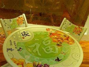 个性化餐桌,图案可以自己设计