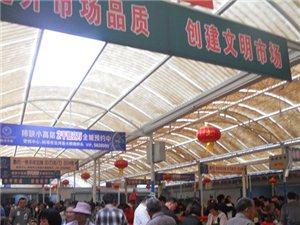 端午节中兴菜市场很热闹!
