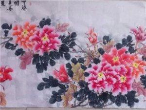 朱秀海牡丹画