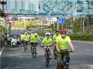 6月10号揭西首届大型绿色骑行活动精彩瞬间(一)