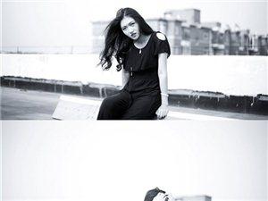 分享自己新拍的一组,人像摄影【墨】