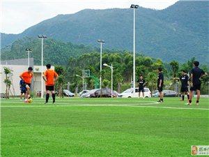 揭西首届足球超级联赛开赛了,揭幕战精彩镜头
