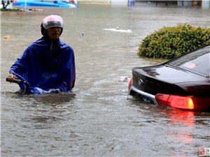 水淹纸坊几条街