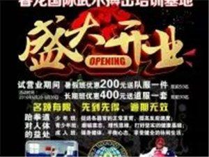 睿龙国际武术搏击培训基地