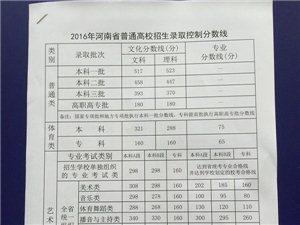 快�:2016河南高考分�稻��嗤��l布!