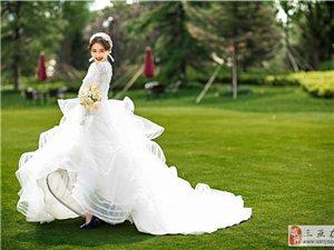 拍韩式婚纱照唯美道具不可少