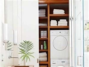 洗衣机到底放哪里最合适?