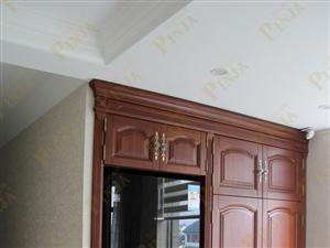橡木实木楼梯 实木楼梯描金 别墅楼梯 原木门 整装案例欣赏